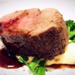 redwine glazed eye fillet