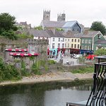 View of Kilkenny from hotel room.