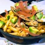 California Clam Chowder Poutine Fries