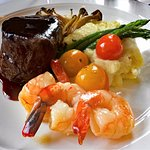 Steak and Shrimp Entree