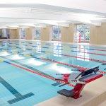 Indoor temperature controlled 6-lane Swimming Pool