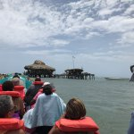 One of the boats from Captain Dennis as we approached Pelican Bar