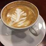 Latte art at Vienna Coffee!