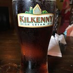 Authentic Irish! wonderful fish'nchips &the tastiest Chicken Curry!Kilkenny was deliciously ice