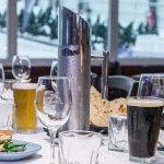 Enjoy a set menu in Snowplanet's 7 Summits Restaurant & Bar
