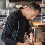 Chef Davide at #bluemangopatong kitchen
