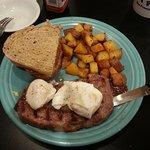 Steak & Poached Eggs