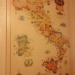 Mappa dei vini italiani