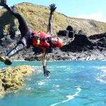 Sideways diving