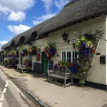 Four points, Aldworth - beautiful flowers