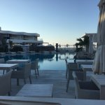 bar/pool with djs and music during the day