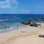 Praia da Calheta a 100 metros do restaurante
