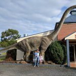 Margie's Family Bistro's Resident Dino
