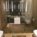 impressive bathroom with atrium