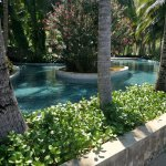 shallow wading pool