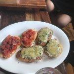 Tomato & Mushroom Bruschetta