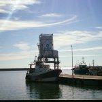 le port de pêche de Chef de Baie (vue du restaurant)