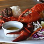 Steak & Whole Maine Lobster