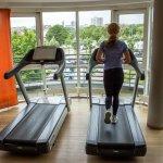 Fitnessbereich in der Lounge