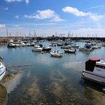 The harbour at St Aubin