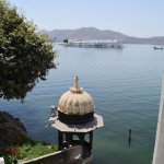 View of the Pichola Lake from Heritage Room
