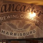 Lancaster Brewing Company - a very cool mural!
