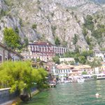 View of hotel from Limone