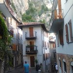 Sample of beautiful cobbled streets in Limone