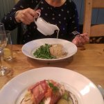 Great food at the Blue Boar