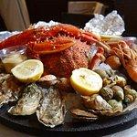 plateau de fruits de mer:-).Bon appétit.