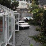 la terrasse du SPA