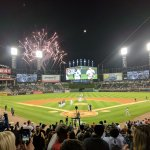 Sox Win (with fireworks)