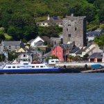 Ferry landed in Ballyhack.