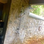 Outdoor shower (cold water)