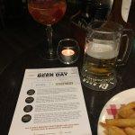 Eves Bar Menu
