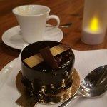 dessert, created by world renown chef