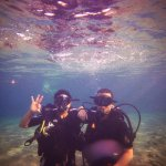 me and my friend (taken by master diver tamer)