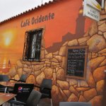 Cafe Ocidente near Cabo da Roca. Great place for refreshment and lunch. Very good food and cheap