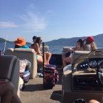 Enjoying the day on the lake