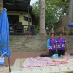 Two massage ladies