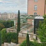Vue sur Lyon et l'hôtel .