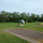 This was our campervan on site