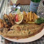 Dover sole. As it should be. Magnificent.