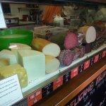 charcuterie et fromages utilisés