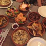 Evening British Tapas selection