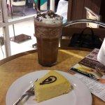 Deliciosos postres y cafés con sabor a cacao....