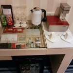 Complimentary coffee and tea making facilities