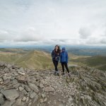 On top of Helvellyn