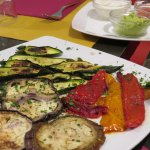 grilled veg - a side dish