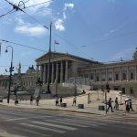 Österreichisches Parlament Foto
